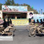 مراسم رژه نیروهای مسلح شهرستان سرخس- شهریور ۹۷ (۱۵)