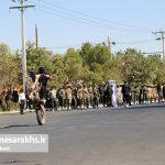 مراسم رژه نیروهای مسلح شهرستان سرخس- شهریور ۹۷ (۱۶)