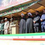 مراسم رژه نیروهای مسلح شهرستان سرخس- شهریور ۹۷ (۱۷)