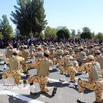 مراسم رژه نیروهای مسلح شهرستان سرخس- شهریور ۹۷ (۱۸)