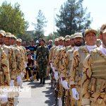 مراسم رژه نیروهای مسلح شهرستان سرخس- شهریور ۹۷ (۱۹)