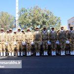 مراسم رژه نیروهای مسلح شهرستان سرخس- شهریور ۹۷ (۳)