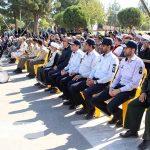 مراسم رژه نیروهای مسلح شهرستان سرخس- شهریور ۹۷ (۴)