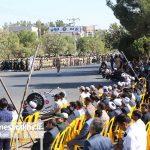 مراسم رژه نیروهای مسلح شهرستان سرخس- شهریور ۹۷ (۵)