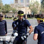 مراسم رژه نیروهای مسلح شهرستان سرخس- شهریور ۹۷ (۹)
