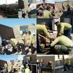 خدمت رسانی ۱۹ گروه جهادی بسیج سازندگی به مناطق محروم سرخس در رزمایش خدمت