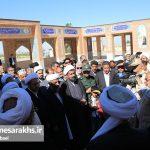 آیین تودیع و معارفه امامجمعه سرخس (۴)