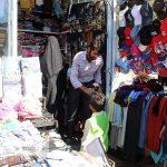 بازاریان سرخس به پویش کاسب امین پیوستند (۱)