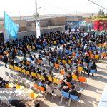 برگزاری باشکوه یادواره شهدای آبروی محله روستای نوبنیاد سرخس