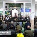 مراسم جشن آغاز هفته وحدت در شهرستان سرخس (۱)