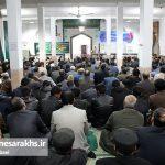 مراسم جشن آغاز هفته وحدت در شهرستان سرخس (۱۱)