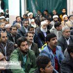 مراسم جشن آغاز هفته وحدت در شهرستان سرخس (۸)