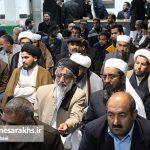 مراسم جشن آغاز هفته وحدت در شهرستان سرخس (۹)