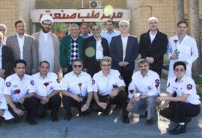 تجلیل از مقام شامخ پرستاران شاغل در بهداری پالایشگاه سرخس