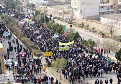جشن ۴۰ سالگی انقلاب در سرخس برگزار شد