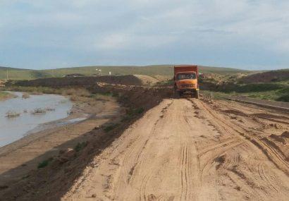 مرمت حاشیه رودخانه تجن برای مقابله با سیلاب