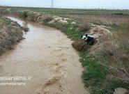 کنترل و پخش سیلاب کشف رود در انهار سنتی دشت سرخس+ تصاویر