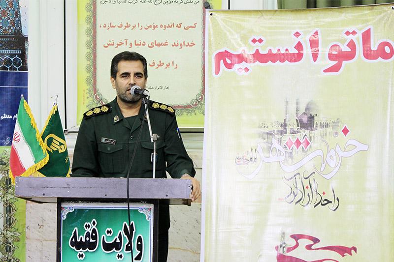 «مقاومت» راهبرد امروز جمهوری اسلامی است/ عقب نشینی دشمن اثر «ما میتوانیم» در خرمشهرها است