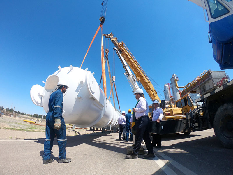 اجرای پروژه تغلیظ گاز اسیدی در پالایشگاه گاز سرخس