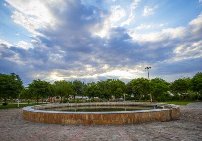 بوستان آزادگان شهر سرخس