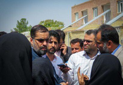 بازدید مسئولان از فاز دوم مسکن مهر شهر سرخس