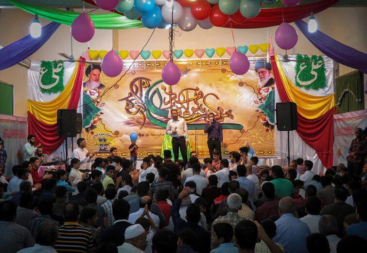 جشن بزرگ عید غدیر در شهر مرزی سرخس