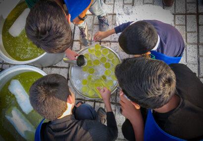 ایستگاه صلواتی هیئت دانش آموزی انصارالمهدی سرخس