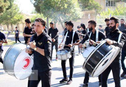گزارش تصویری؛ حال و هوای سرخس در روز تاسوعای حسینی
