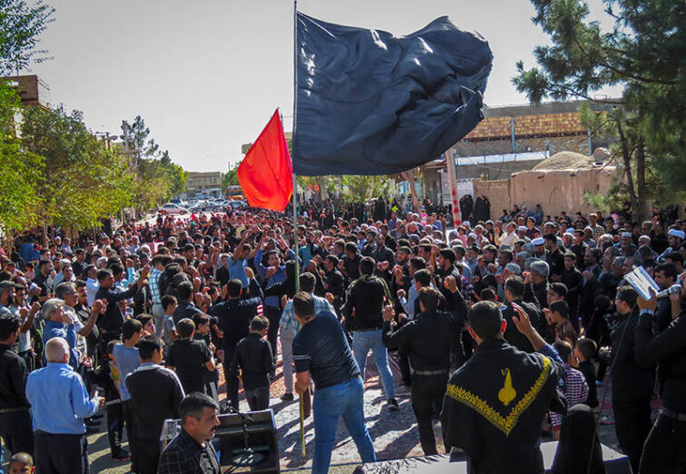 عزاداری اربعین حسینی در شمال شرقیترین نقطه ایران اسلامی