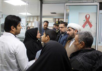 بازدید سرزده مسئولان از درمانگاه تامین اجتماعی سرخس