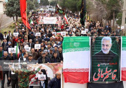 اجتماع بزرگ «سلیمانیها» در شمال شرقیترین نقطه ایران اسلامی