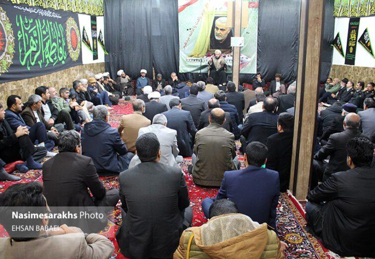 مراسم بزرگداشت سپهبد شهید قاسم سلیمانی و شهدای محور مقاومت در سرخس