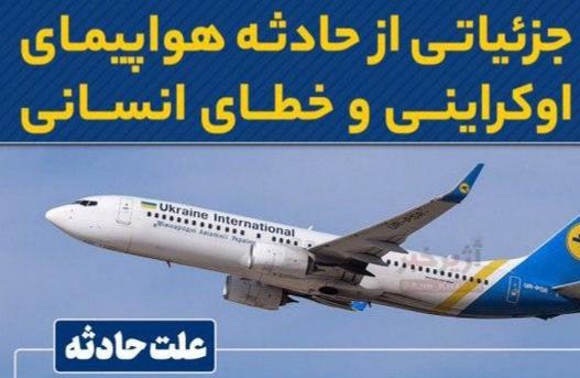 شجاعت صداقت در حادثه تلخ هواپیمای اوکراین/ وقتی بین مردم و حاکمیت پنهان کاری معنا ندارد +اینفوگرافیک