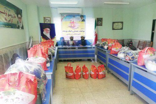 ۳۷۵۲ بسته معیشتی بین نیازمندان سرخس در رزمایش کمک مؤمنانه توزیع شد/ توزیع سه هزار بسته معیشتی دیگر تا پایان ماه رمضان
