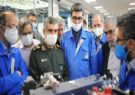 فیلم؛ بازدید فرمانده نیروی هوافضای سپاه از نمایشگاه دستاوردهای ایران خودرو