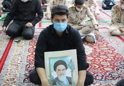 مراسم سی و یکمین سالگرد ارتحال معمار کبیر انقلاب اسلامی در سرخس