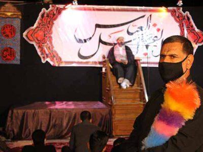 برگزاری مراسم شب تاسوعا با رعایت پروتکلهای بهداشتی در سرخس