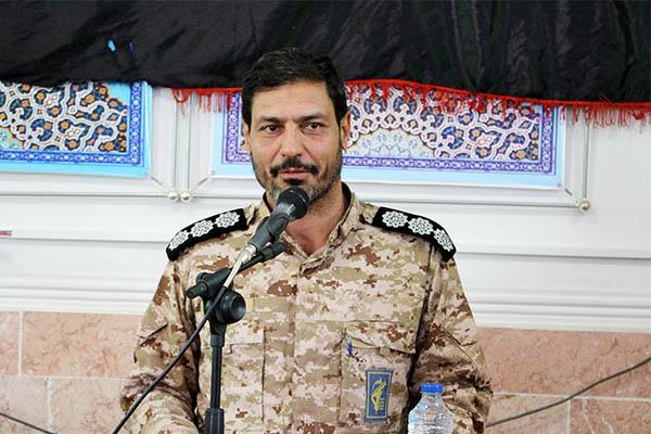 مراسم معارفه فرمانده محور عملیاتی شهید برونسی سرخس