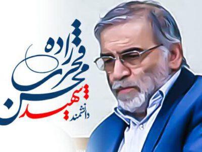 پوستر؛ شهید محسن فخری زاده