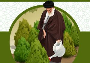 پوستر؛ «هر ایرانی یک درخت»