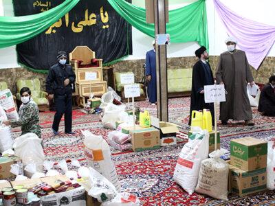 عیدی گروههای جهادی سرخس به نیازمندان همزمان با نیمه شعبان