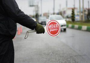 اجرای محدودیتهای سختگیرانه ترافیکی در سرخس