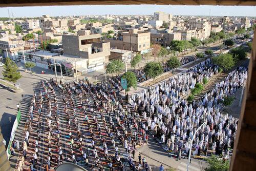اقامه نماز عید فطر در سرخس