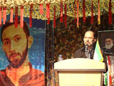 یادواره شهدا با حضور پدر شهید محمدحسین حدادیان در سرخس