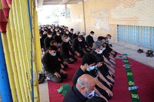 برگزاری نماز ظهر عاشورا در شهر مرزی سرخس